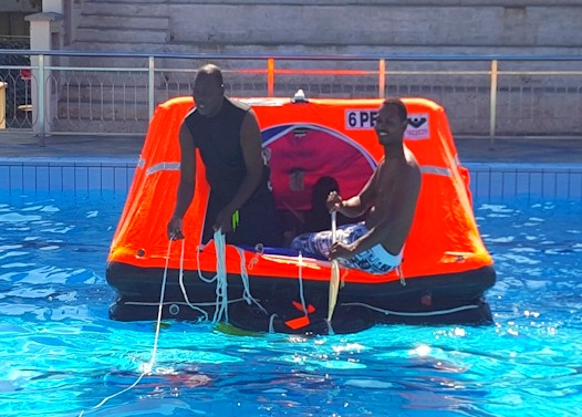 Liferafts Safety Training