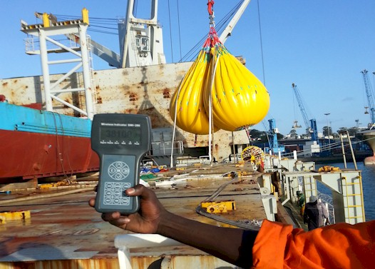 Ship Crane Load Test